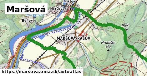 ikona Mapa autoatlas  marsova