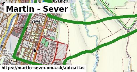 ikona Mapa autoatlas  martin-sever