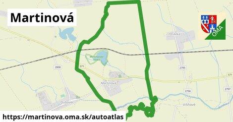 ikona Mapa autoatlas  martinova