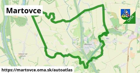 ikona Mapa autoatlas  martovce