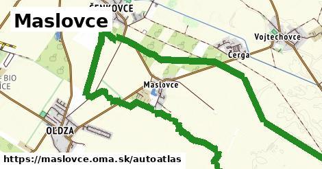 ikona Mapa autoatlas  maslovce