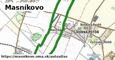 ikona Mapa autoatlas  masnikovo