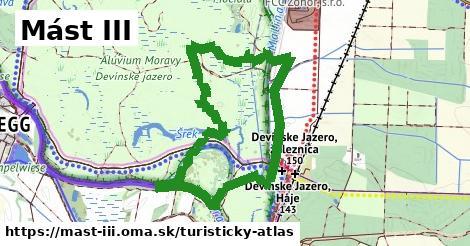 ikona Mást III: 0m trás turisticky-atlas  mast-iii