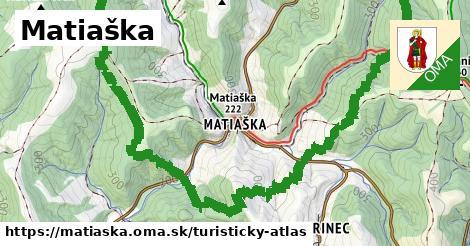ikona Turistická mapa turisticky-atlas  matiaska