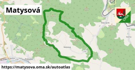 ikona Mapa autoatlas  matysova