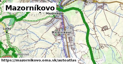 ikona Mapa autoatlas  mazornikovo