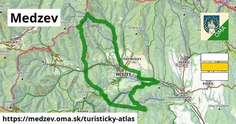 ikona Turistická mapa turisticky-atlas  medzev