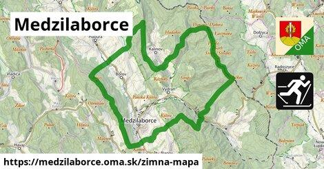 ikona Zimná mapa zimna-mapa  medzilaborce