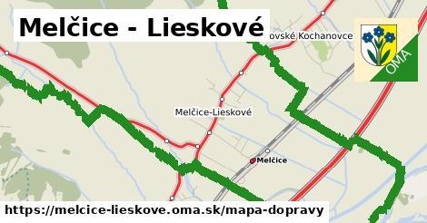 ikona Mapa dopravy mapa-dopravy  melcice-lieskove