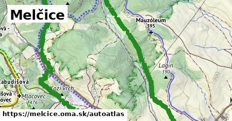 ikona Mapa autoatlas  melcice
