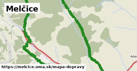 ikona Mapa dopravy mapa-dopravy  melcice