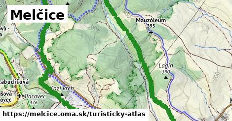 ikona Turistická mapa turisticky-atlas  melcice