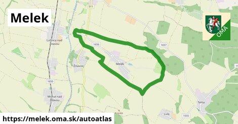 ikona Mapa autoatlas  melek