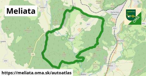 ikona Mapa autoatlas  meliata