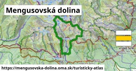 ikona Turistická mapa turisticky-atlas  mengusovska-dolina