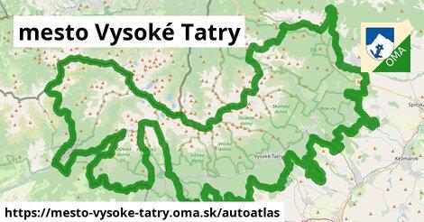 ikona Mapa autoatlas  mesto-vysoke-tatry