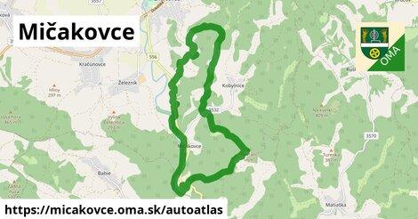 ikona Mapa autoatlas  micakovce