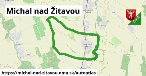 ikona Mapa autoatlas  michal-nad-zitavou