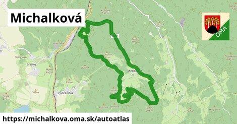 ikona Mapa autoatlas  michalkova