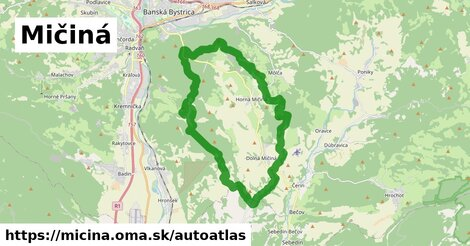 ikona Mapa autoatlas  micina