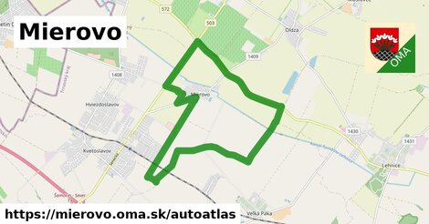 ikona Mapa autoatlas  mierovo