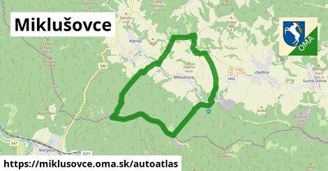 ikona Mapa autoatlas  miklusovce