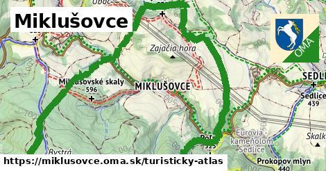 ikona Turistická mapa turisticky-atlas  miklusovce