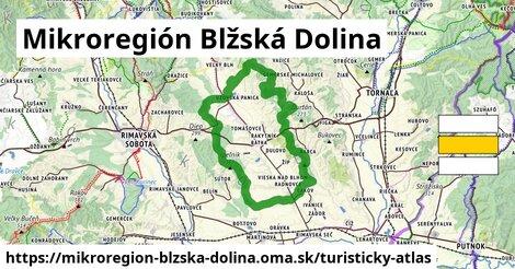 ikona Turistická mapa turisticky-atlas  mikroregion-blzska-dolina