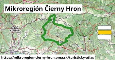 ikona Turistická mapa turisticky-atlas  mikroregion-cierny-hron