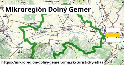 ikona Turistická mapa turisticky-atlas  mikroregion-dolny-gemer