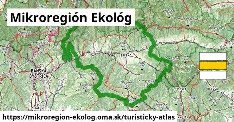 ikona Mikroregión Ekológ: 593km trás turisticky-atlas  mikroregion-ekolog