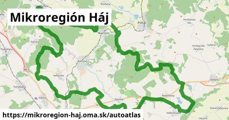 ikona Mapa autoatlas  mikroregion-haj