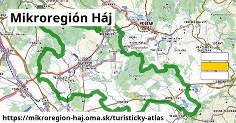 ikona Turistická mapa turisticky-atlas  mikroregion-haj