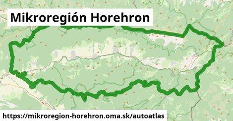 ikona Mapa autoatlas v mikroregion-horehron
