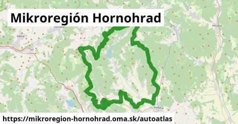 ikona Mapa autoatlas  mikroregion-hornohrad