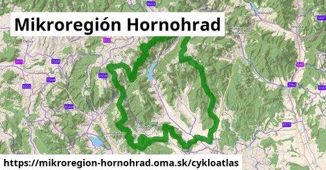 ikona Mikroregión Hornohrad: 22km trás cykloatlas  mikroregion-hornohrad