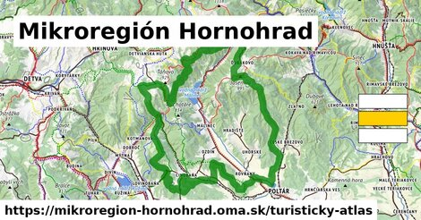 ikona Turistická mapa turisticky-atlas  mikroregion-hornohrad