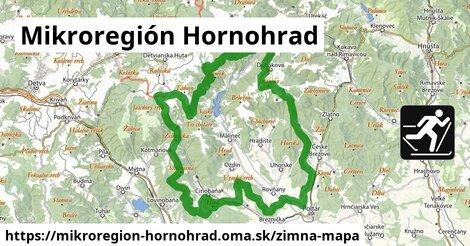 ikona Mikroregión Hornohrad: 2,7km trás zimna-mapa  mikroregion-hornohrad