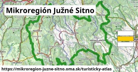 ikona Turistická mapa turisticky-atlas  mikroregion-juzne-sitno