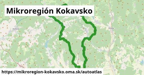 ikona Mapa autoatlas  mikroregion-kokavsko
