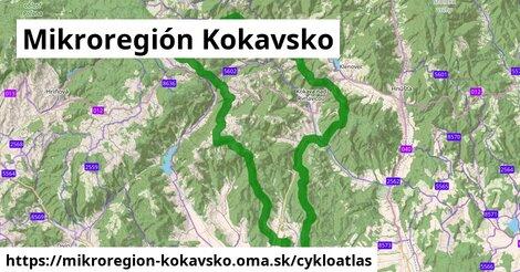 ikona Mikroregión Kokavsko: 68km trás cykloatlas  mikroregion-kokavsko