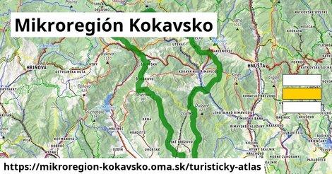 ikona Turistická mapa turisticky-atlas  mikroregion-kokavsko