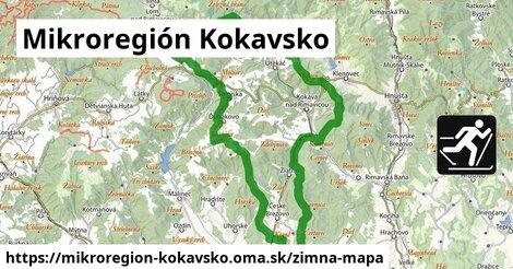 ikona Mikroregión Kokavsko: 6,1km trás zimna-mapa  mikroregion-kokavsko