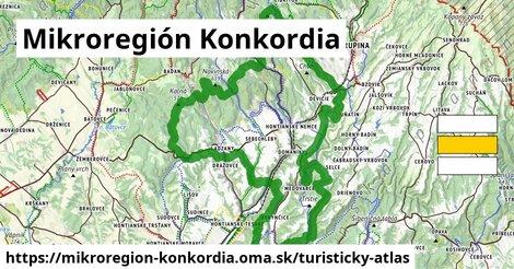 ikona Turistická mapa turisticky-atlas  mikroregion-konkordia