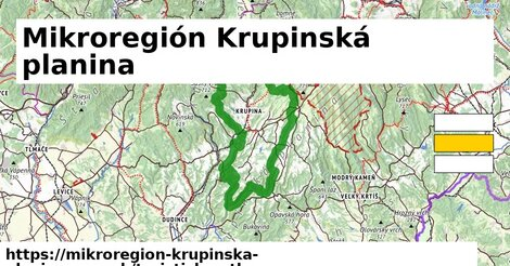 ikona Mikroregión Krupinská planina: 62km trás turisticky-atlas  mikroregion-krupinska-planina