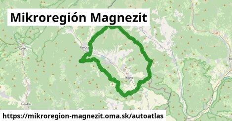 ikona Mapa autoatlas  mikroregion-magnezit