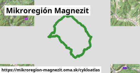 ikona Mikroregión Magnezit: 19km trás cykloatlas  mikroregion-magnezit