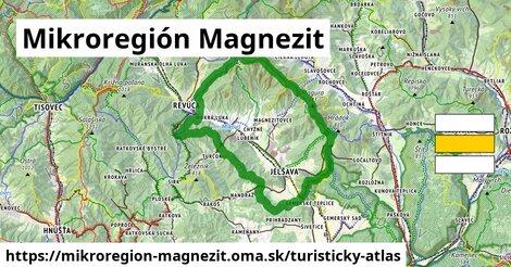 ikona Mikroregión Magnezit: 39km trás turisticky-atlas  mikroregion-magnezit