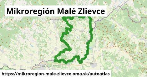ikona Mapa autoatlas  mikroregion-male-zlievce