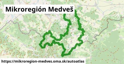 ikona Mapa autoatlas  mikroregion-medves